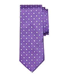 Flower and Dots Tie