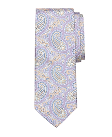 Small Paisley Print Tie