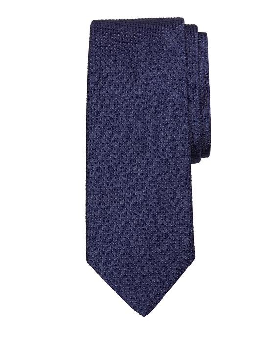 Textured Tie Navy