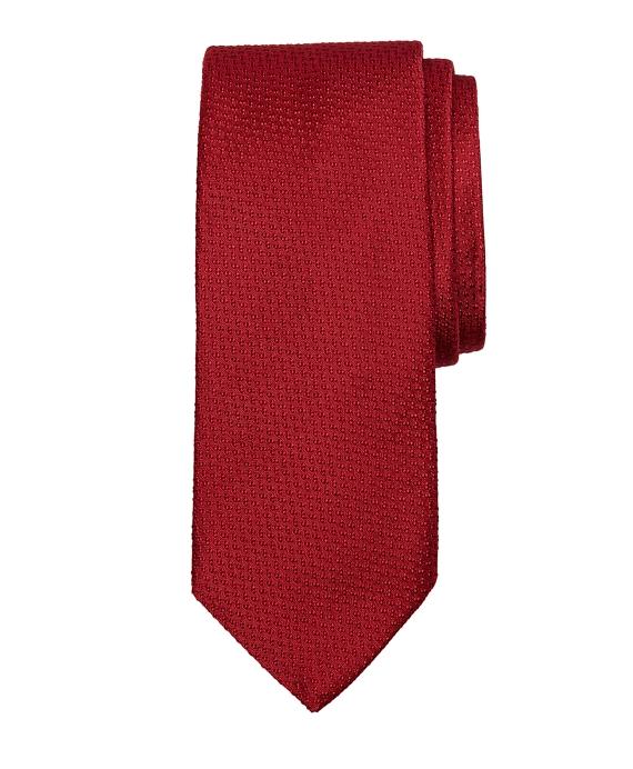 Textured Tie Red