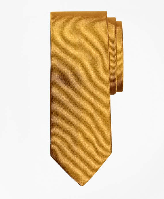 Solid Rep Tie Gold