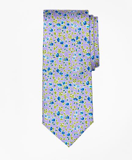 Ditsy Floral Print Tie