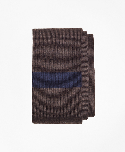 Color-Block Knit Tie
