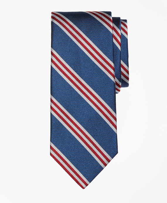 BB#1 Stripe Tie Blue