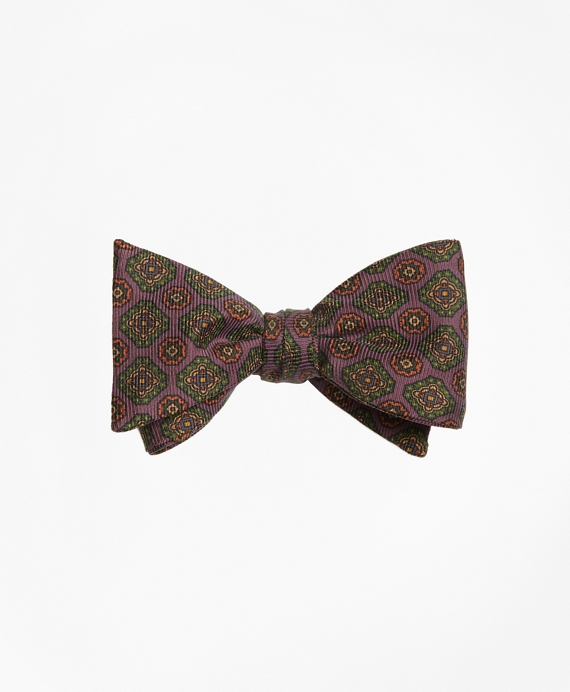 Ancient Madder Medallion Bow Tie Purple