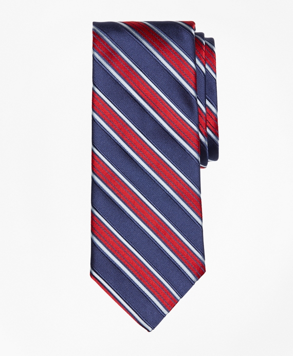 Music Stripe Tie Navy