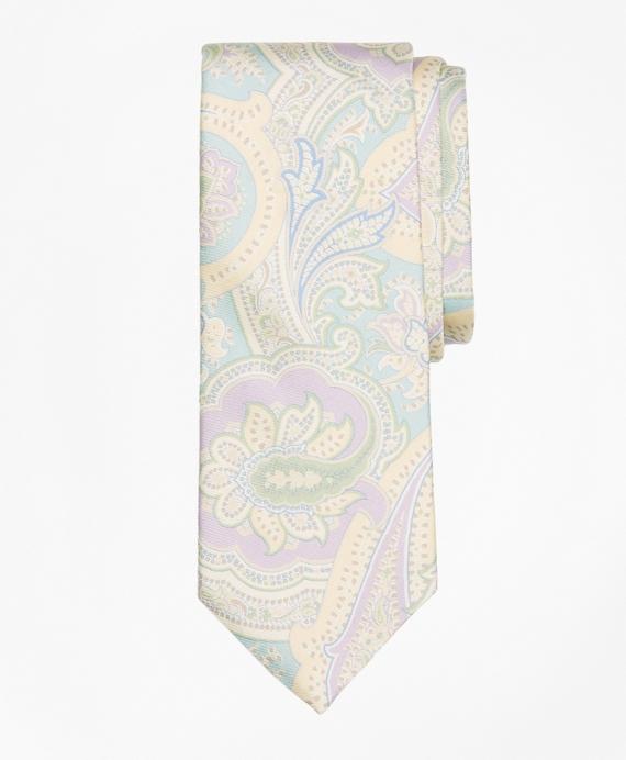 Paisley Print Tie Teal