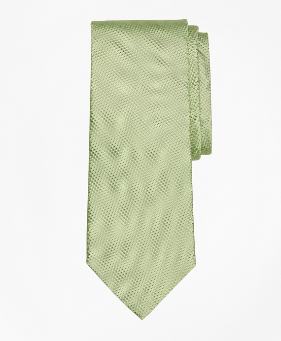Textured Tie Green