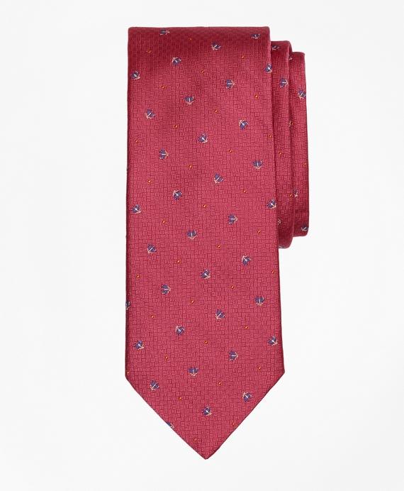 Tossed Golden Fleece® Parquet Tie Pink