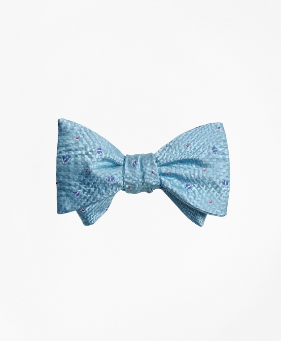 Tossed Golden Fleece® Parquet Tie Aqua