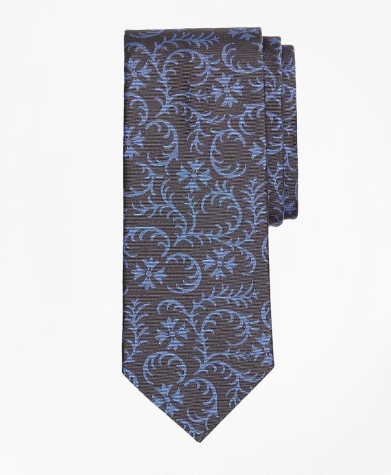 Vines Tie Grey