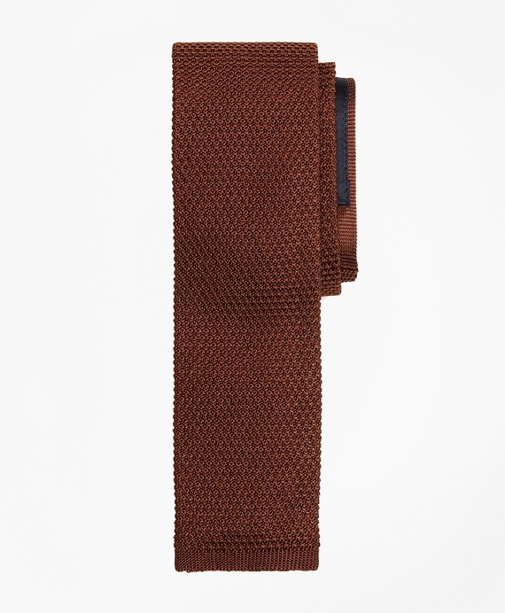 Knit Tie Brown