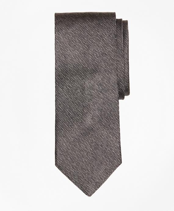 Heathered Silk Tie Grey