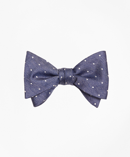 Heathered Dot Bow Tie