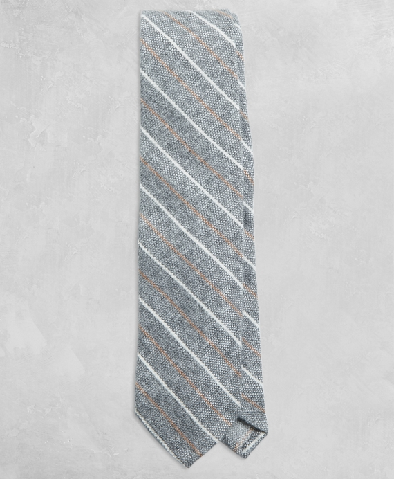 Golden Fleece® Two-Tone Stripe Tie Grey