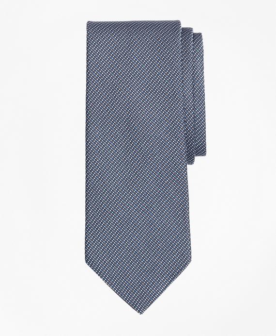 Alternating Micro-Dot Tie Grey