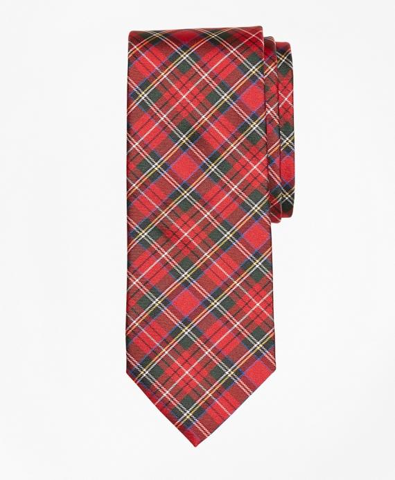 Royal Stewart Tartan Tie Red