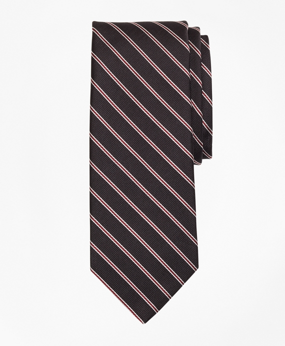 BB#2 Stripe Tie Black