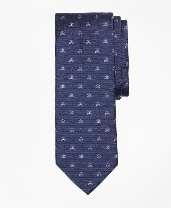 Shadow Golden Fleece® Tie Navy