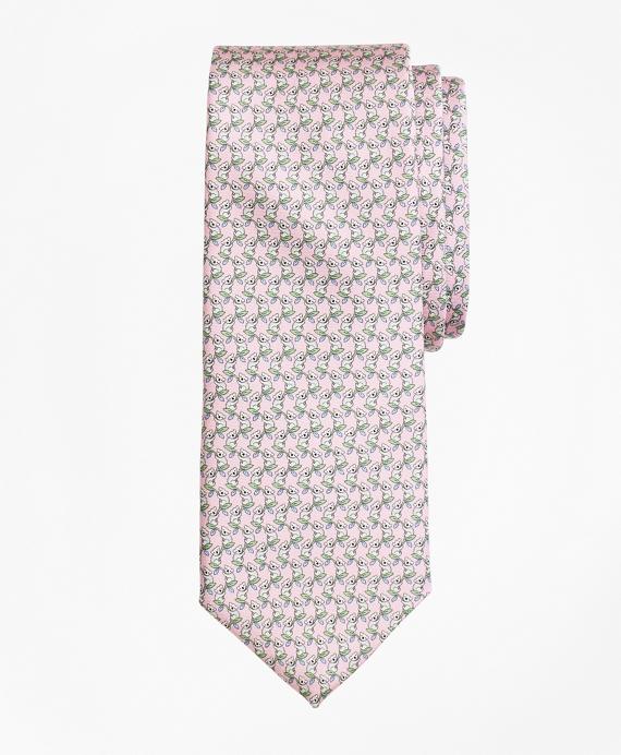 Koala Print Tie Pink
