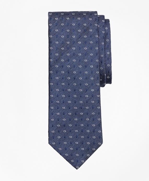 Heathered Pine Tie Navy