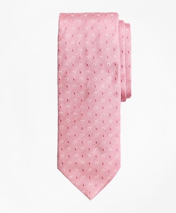 Heathered Pine Tie Pink