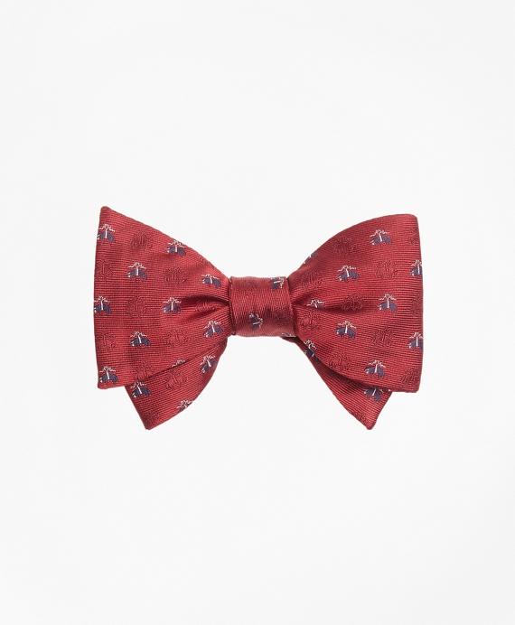 Golden Fleece® Shadow Bow Tie Red