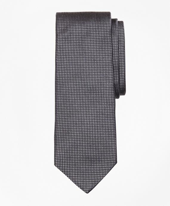 Melange Dot Tie Grey
