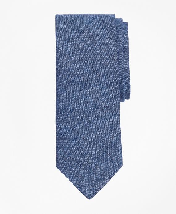 Linen Tie Blue