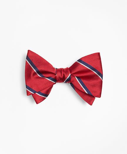 Sidewheeler Stripe Bow Tie