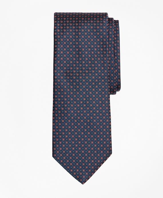 Micro-Flower Tie Blue