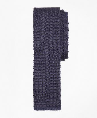 Circle and Dot Knit Tie