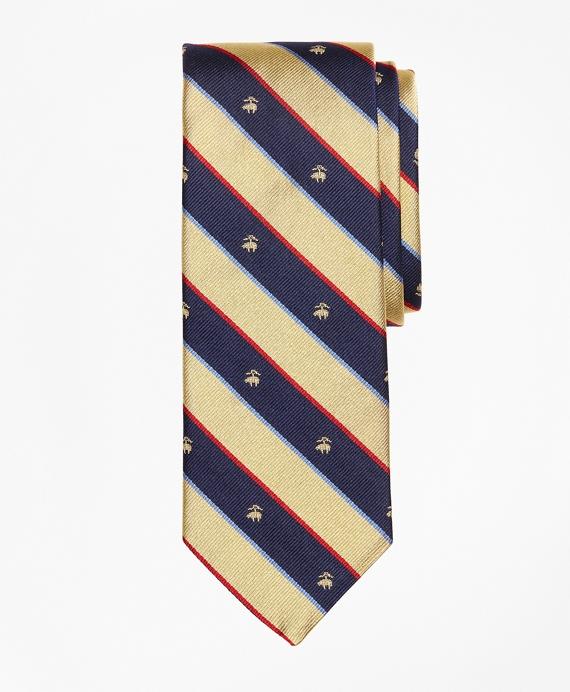 Argyll and Sutherland with Golden Fleece® Stripe Tie Gold