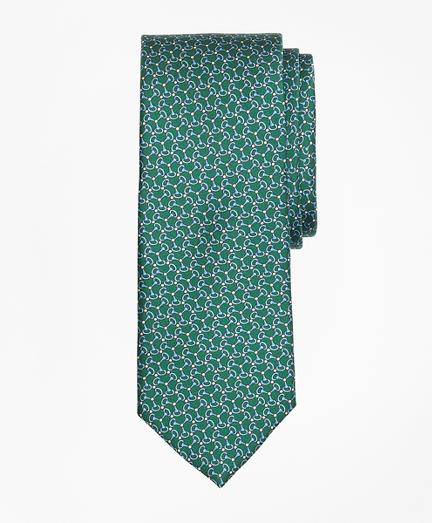 Triple Link Print Tie