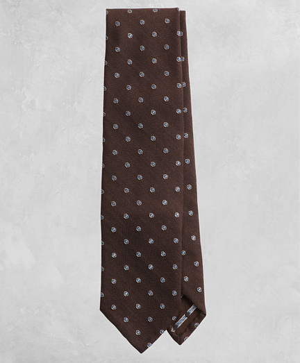 Golden Fleece® Dotted Wool Silk Tie