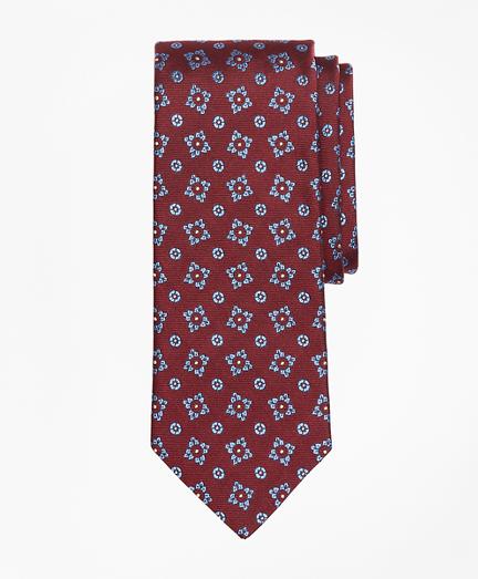 Tossed Square Medallion Tie