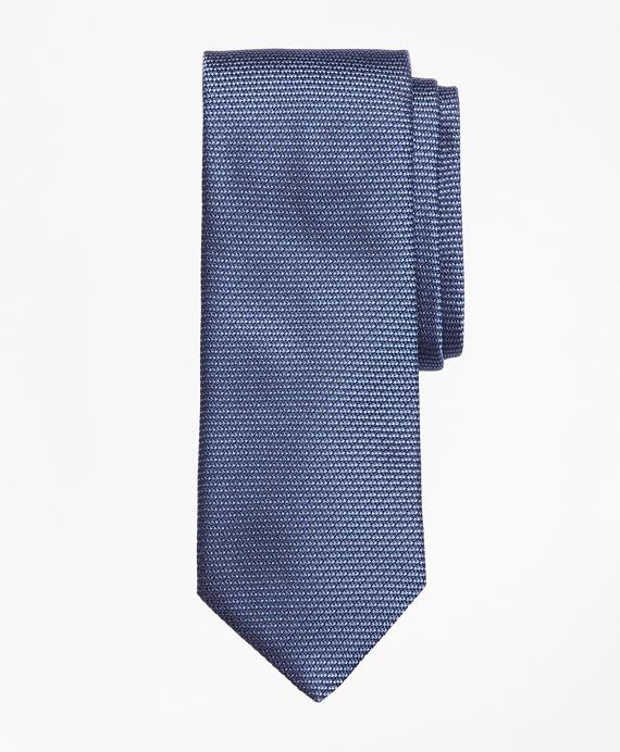 Textured Dot Tie Navy