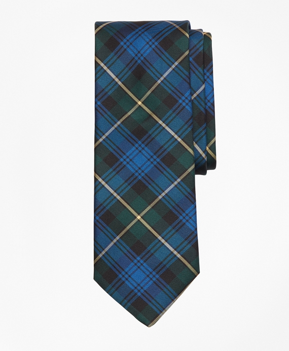 Dress Gordon Tartan Tie Blue Green