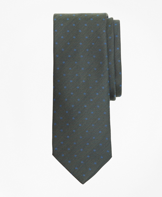 Mini-Dot Tie Green
