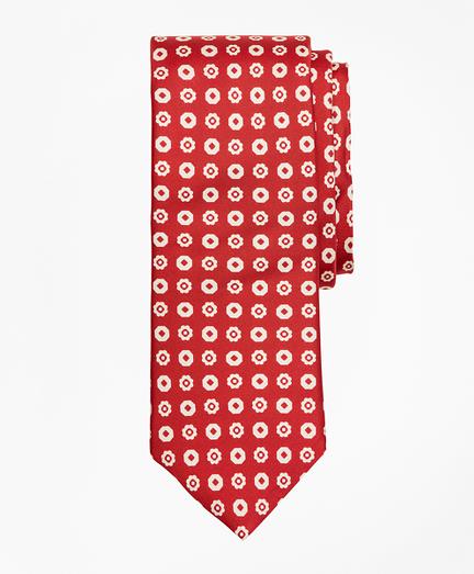 Octagon Flower Tie