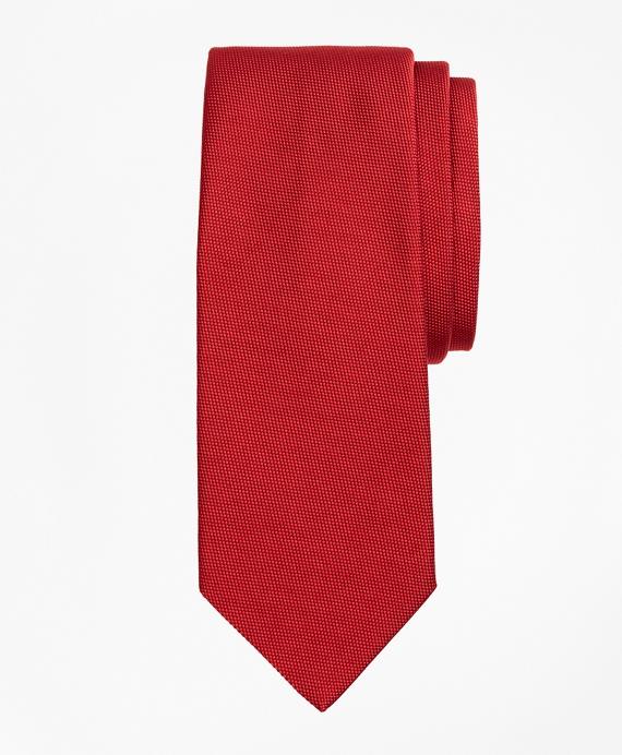 Dobby Tie Red