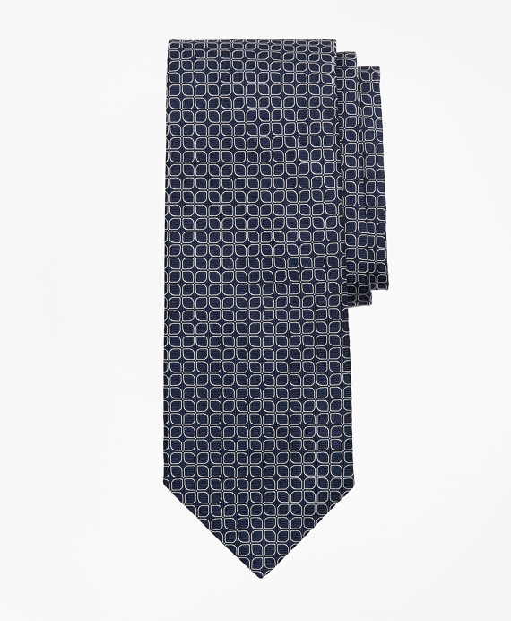 Multi-Ring Tie Navy