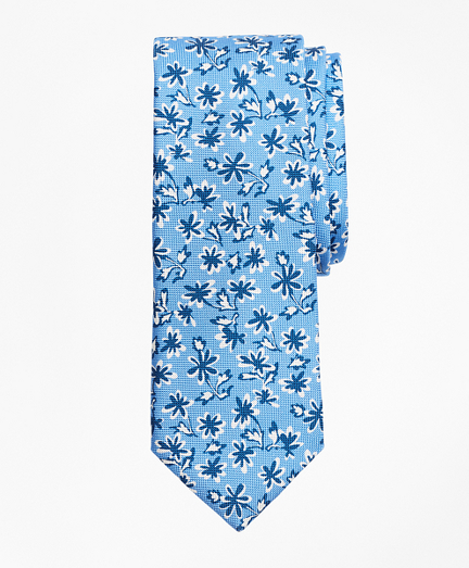 Bold Floral Print Tie