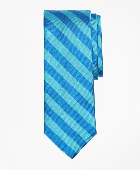 Guard Stripe Tie Aqua
