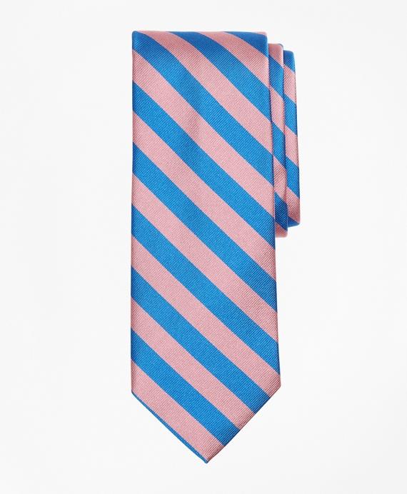 Guard Stripe Tie Pink