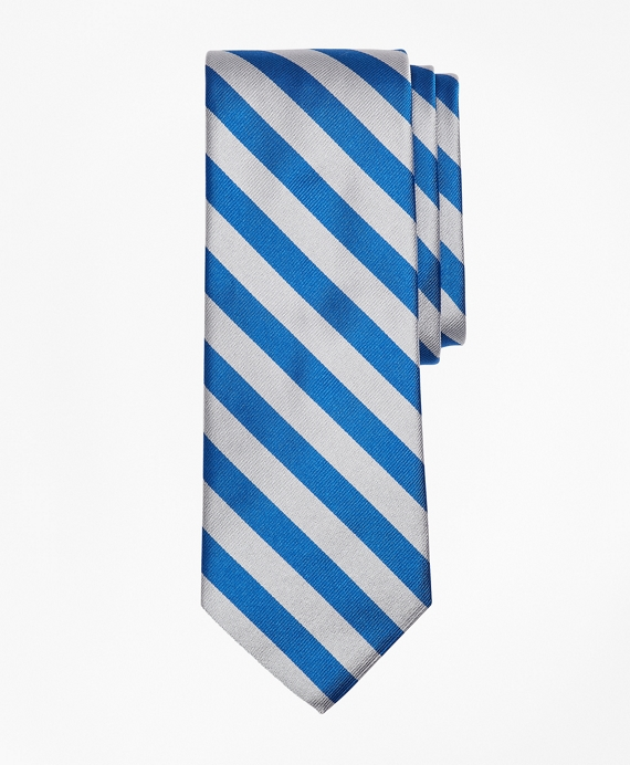 Guard Stripe Tie Silver