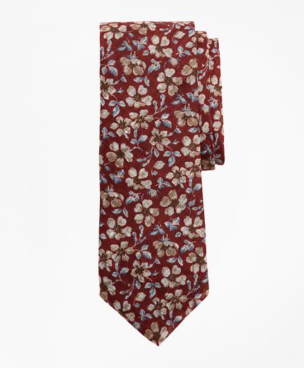 Vintage Flower Tie