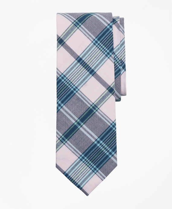 Pink Madras Tie Light Pink