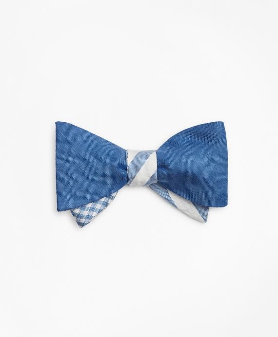 Three-Way Reversible Bow Tie Blue