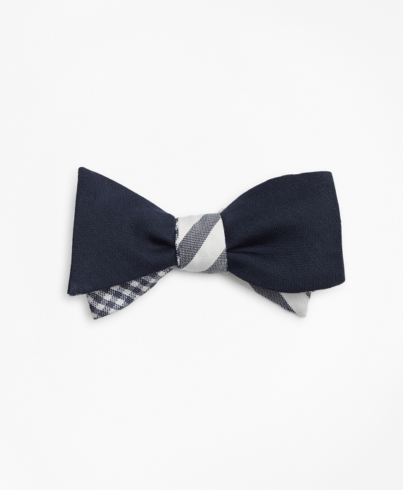 Three-Way Reversible Bow Tie Navy